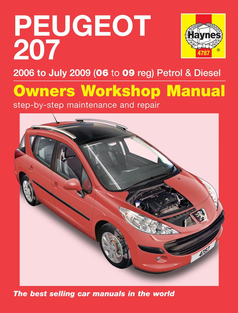 peugeot 207 1 4 1 6 petrol diesel 2006-09  2006
