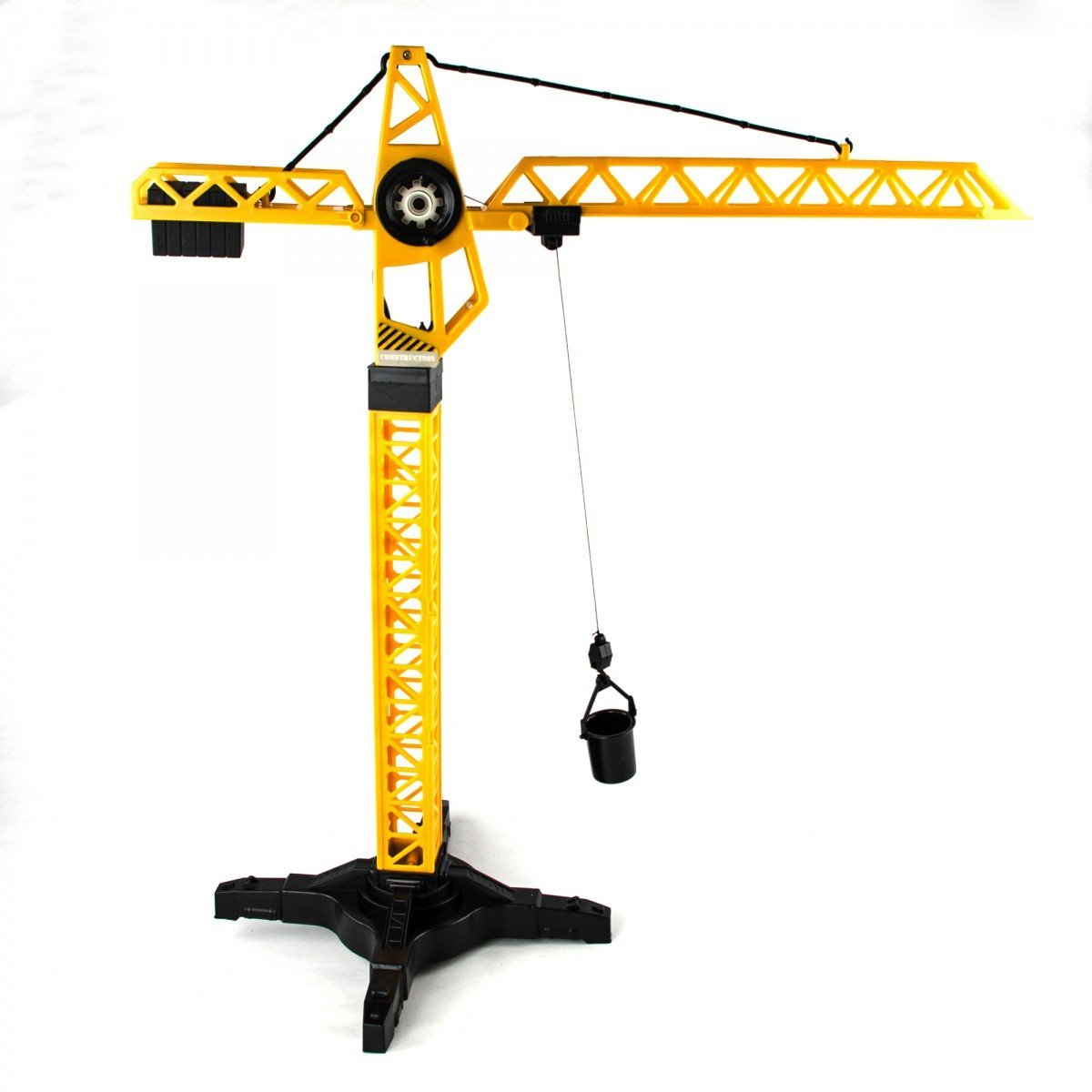 Toy Cranes For Boys : Cm manual tower crane construction toy with rotating cab
