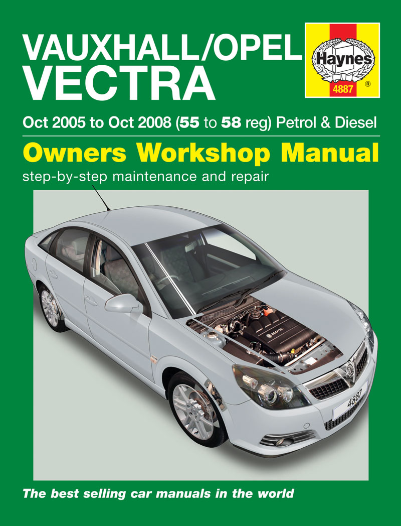 Haynes 4887 Workshop Repair Manual Vauxhall Vectra 05