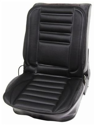 Pair Of 12v Car Heating Heated Seat Cover Cushion With Thermostat Twin Adap