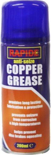 RAPIDE ANTI-SEIZE COPPER GREASE HIGH TEMPERATURE LUBRICANT