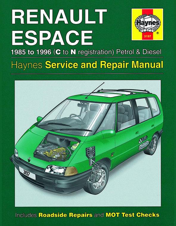 haynes workshop car repair owners manual renault espace