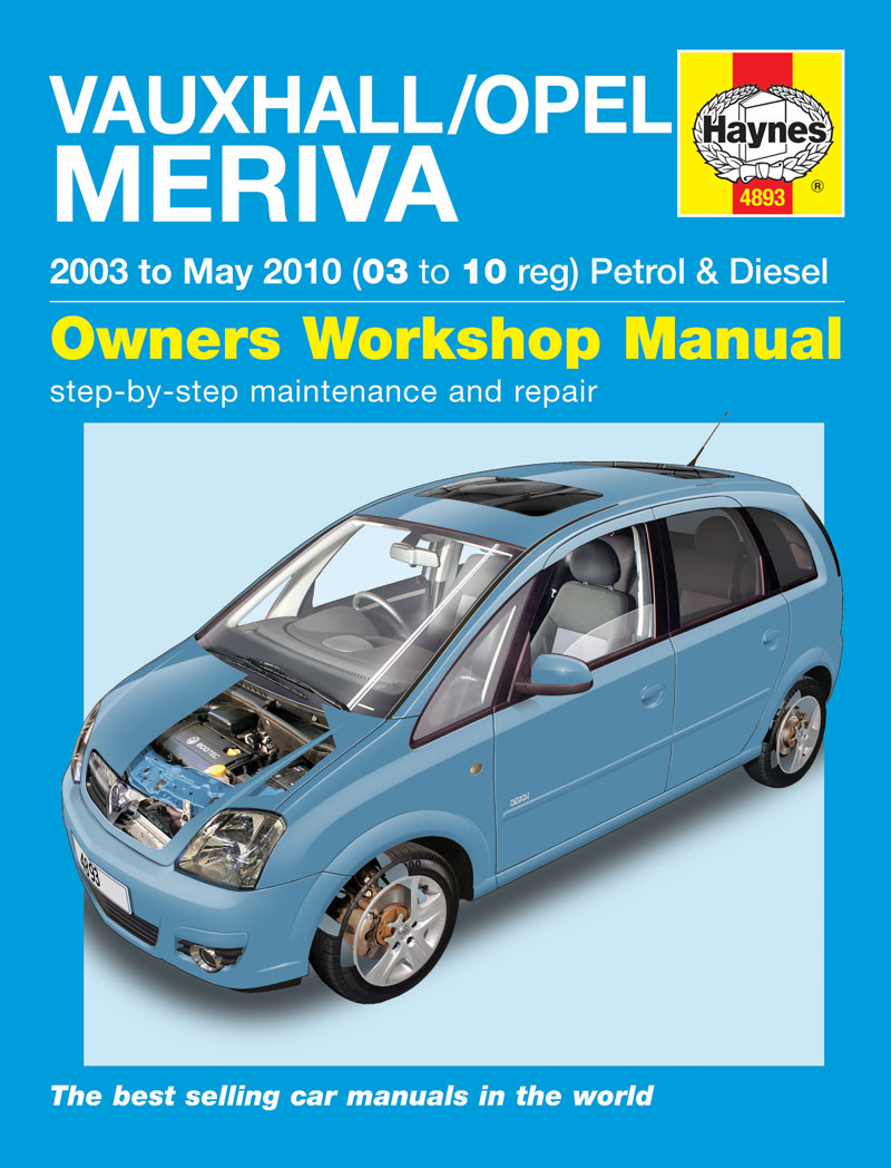 Vauxhall Corsa Wiring Diagram Pdf Library C Circuit Haynes Workshop Manual Opel Meriva 03 To 10 Ebay