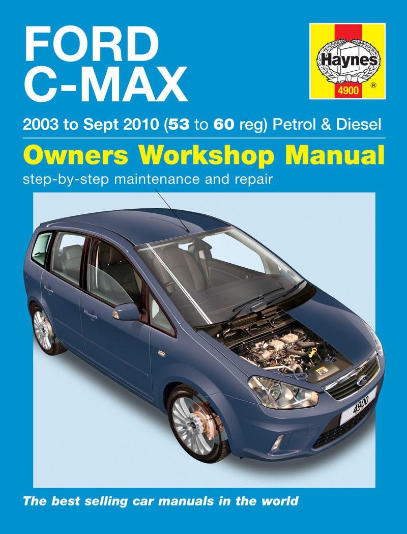 haynes workshop manual ford c max petrol diesel 53 10 ebay. Black Bedroom Furniture Sets. Home Design Ideas