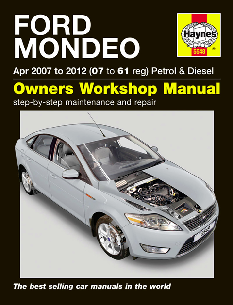 haynes workshop repair owners manual ford mondeo petrol. Black Bedroom Furniture Sets. Home Design Ideas