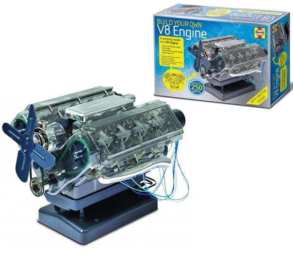 V8 Engine Kit: HAYNES BUILD YOUR OWN V8 INTERNAL COMBUSTION ENGINE