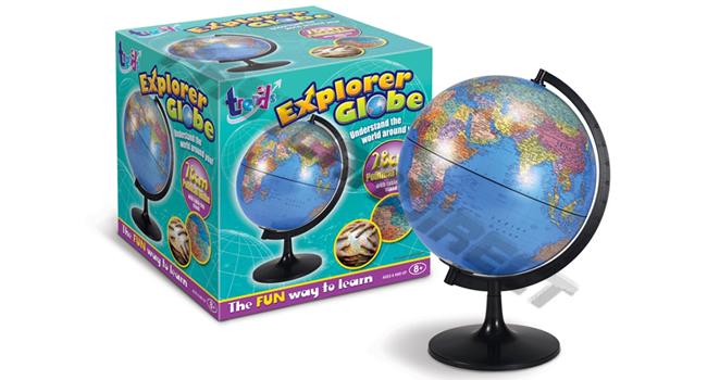 Globe Air Hoist : Explorer globe cm w table stand political childs