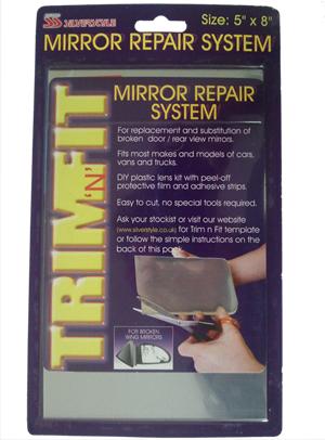 Easy car van truck wing door mirror glass repair kit ebay for Mirror repair kit