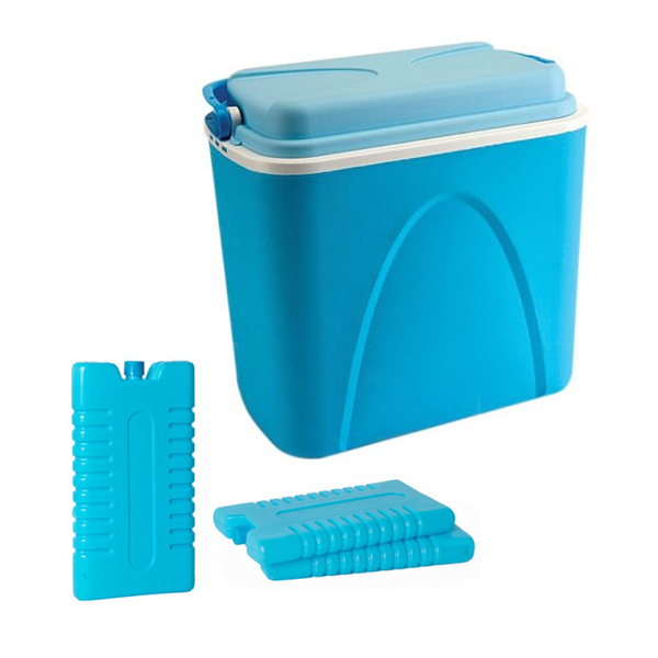 Ice Pack Air Coolers : Large l coolbox cooler box camping beach picnic travel