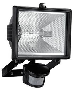 500w halogen floodlight security light pir motion sensor. Black Bedroom Furniture Sets. Home Design Ideas
