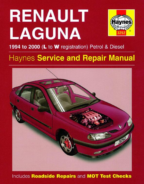 haynes workshop repair owners manual renault laguna petrol