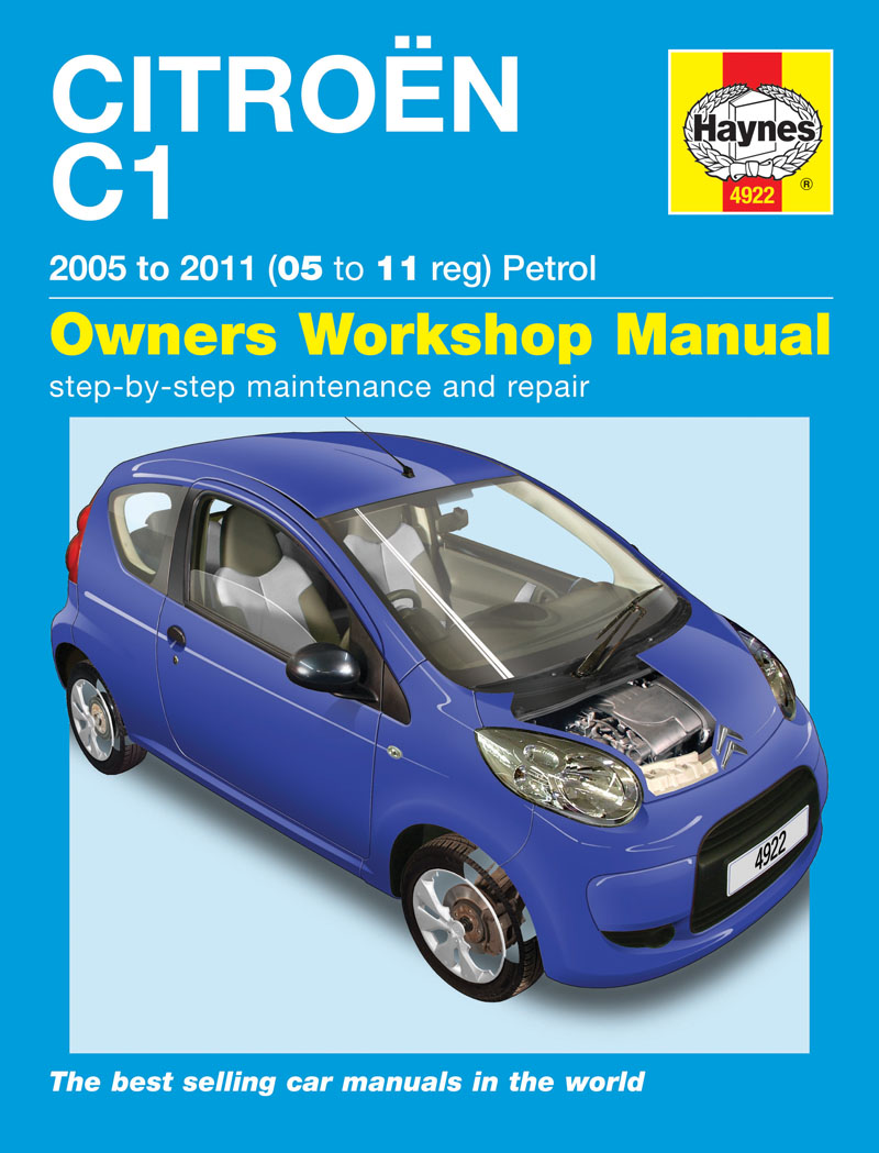 haynes workshop repair owners manual citroen c1 petrol 05 to 11 ebay. Black Bedroom Furniture Sets. Home Design Ideas