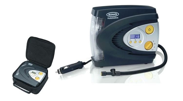ring 12v digital wheel tyre inflator pump air compressor. Black Bedroom Furniture Sets. Home Design Ideas