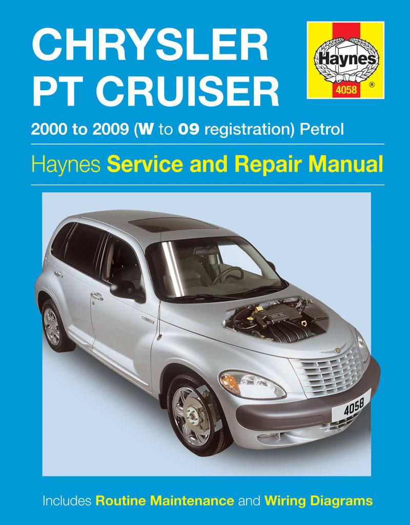 Haynes Workshop Repair Manual Chrysler Pt Cruiser  00