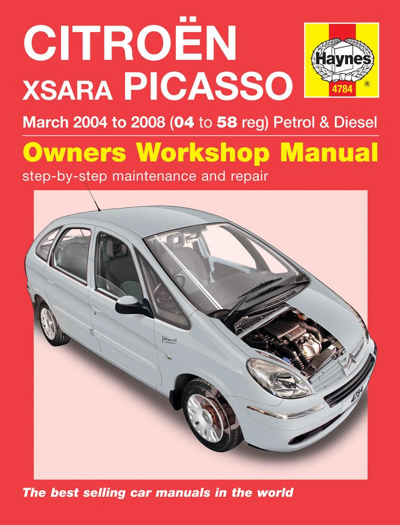 Haynes Workshop Car Repair Manual Citro U00ebn Xsara Picasso