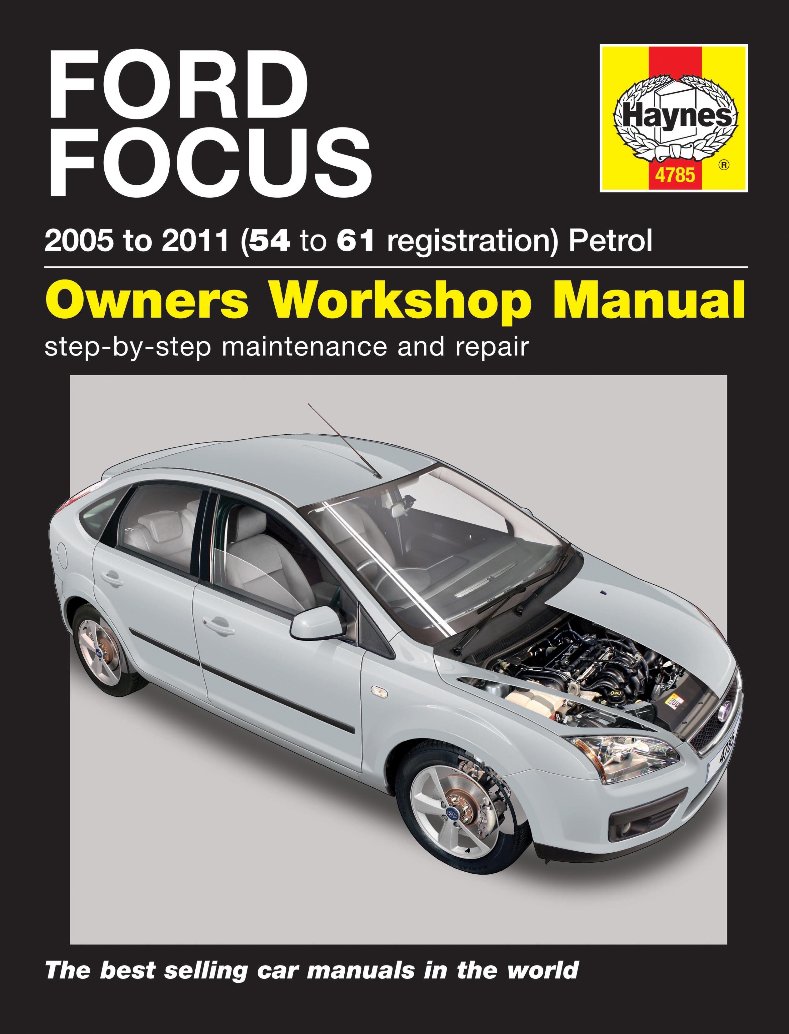 Ford Focus 1 4 1 6 1 8 2 0 Petrol 05