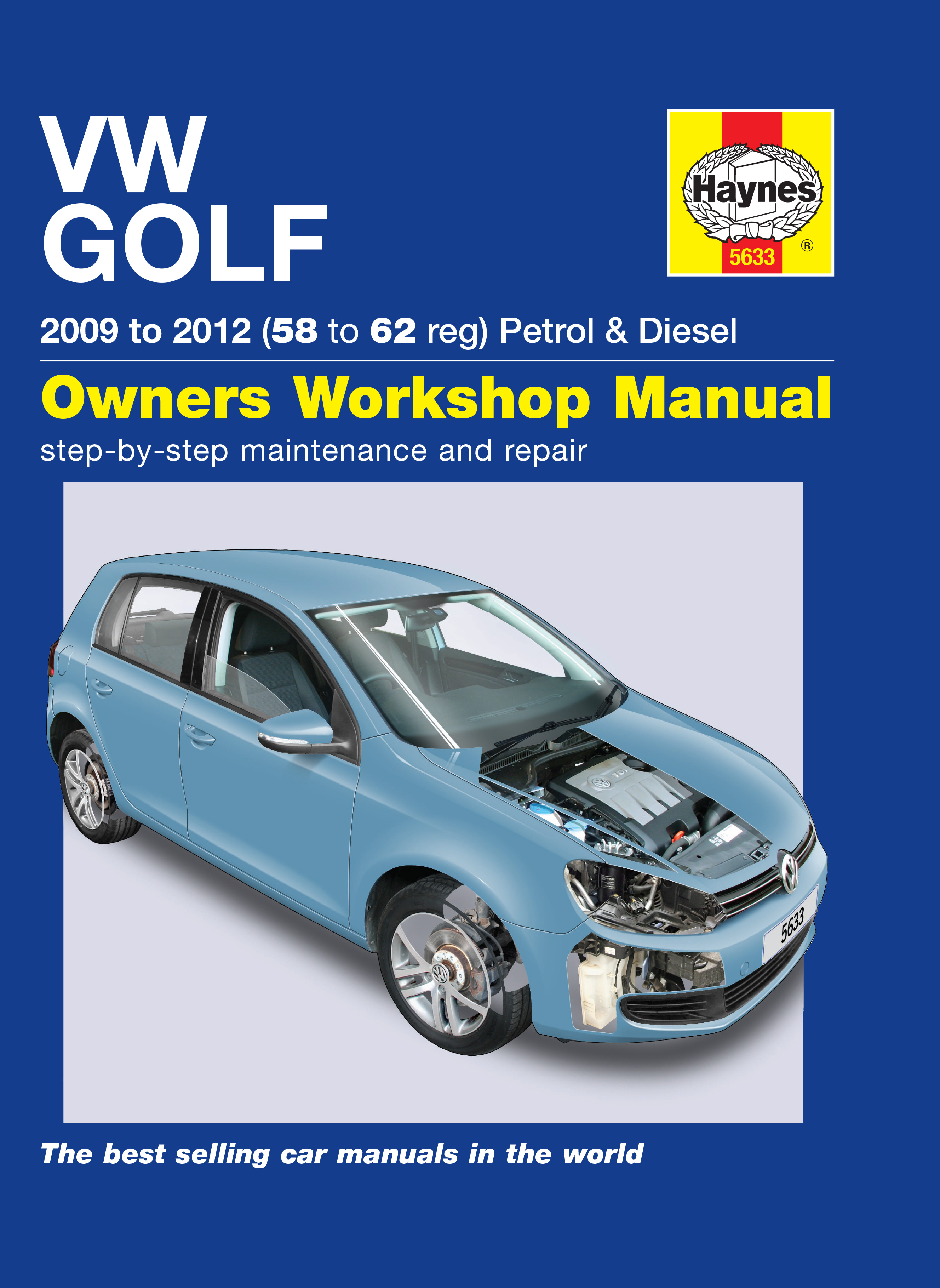 Vw Golf v repair Manual pdf