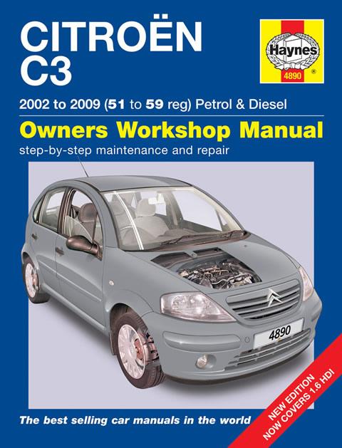 haynes workshop repair owners manual citroen c3 petrol   diesel 02 09 51 59 ebay Haynes Manuals UK haynes techbook welding manual pdf